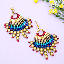 Stunning Gold Plated Tassel Earrings: Send Jewellery Gifts