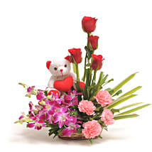 Sweet Inspiration: Send Flowers & Teddy Bears to Hyderabad