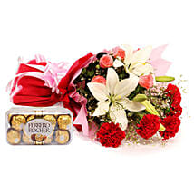Sweetest Of All: Flowers & Chocolates for Him