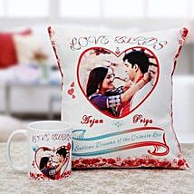 The Duology: Personalised Cushions for Wife