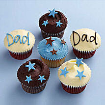 Twinkling Stars Cupcakes for Dad: Cup Cakes to Ghaziabad