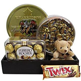 Twix Choco Hamper: Send Thank You Chocolates
