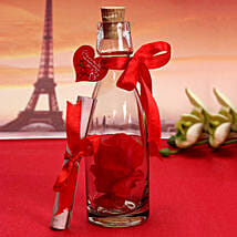 Unique Message In A Bottle: Valentine Personalised Gifts for Her
