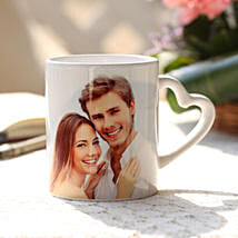 V-Day Special Personalised Mug: Send Personalized Gifts