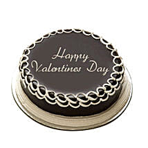 Valentine Special Chocolate Cake: Cake Delivery in Nadiad