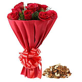 Wonder Of Gift: Flower N Dry Fruit