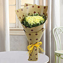 Yellow Carnations In Joy: Teachers Day Flowers
