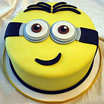 Yellow Minion Cake: Birthday Cakes for Girls & boys