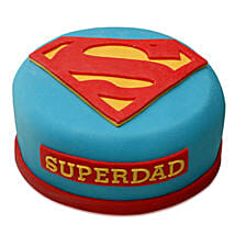 Yummy Super Dad Special Cake: Cake Delivery in Thoppumpady