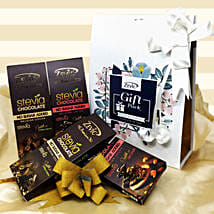 Zevic Assorted Stevia Chocolates: Chocolate Gifts in India