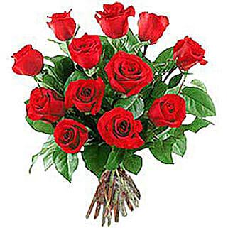 12 Long Stem Roses: Wedding Gifts to Nepal