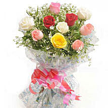 Summer Pop Roses: Wedding Gift Delivery in Nepal