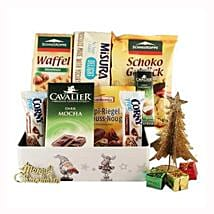 Sweet Moments Diabetic Gift Basket: Corporate Hampers to Netherlands