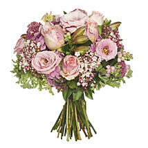 Blushing Pink Bouquet: Flower Delivery in New Zealand