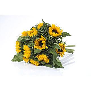 Bright Sunflower Bouquet: Send Flower Bouquets to New Zealand