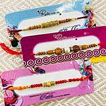 Brothers Three Rakhi: Rakhi Gifts for Brother to NZ