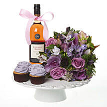 Lilac Extravaganza Combo: Christmas Gifts Delivery In New Zealand
