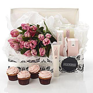 Pink Blush Hamper: Send Gift Hampers to New Zealand