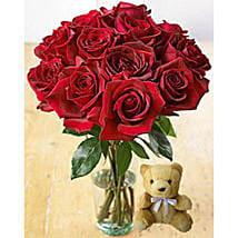 Redhot Cuddle: Flowers for Birthday