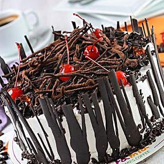 Yummy Choco Cherry Cake: Birthday Cakes to Philippines