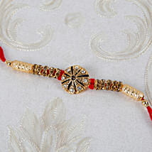 Premim Diamond Designer Rakhi: Rakhi Delivery in Portugal