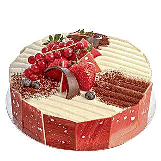 Delightful Vanilla Cake: Valentine's Day Cakes to Qatar