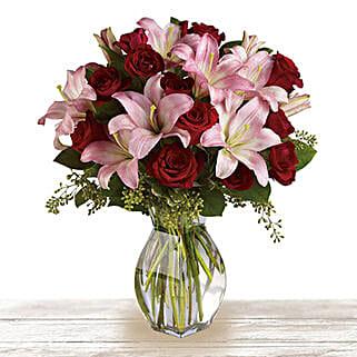 Love Always: Lilies to Qatar