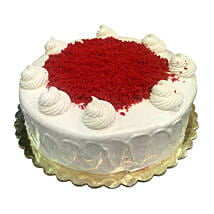 1 Kg Red Velvet Cake: Father's Day Gifts to Saudi Arabia