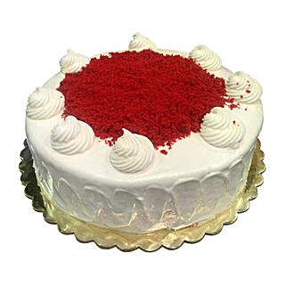 1 Kg Red Velvet Cake: Mother's Day Gifts to Saudi Arabia