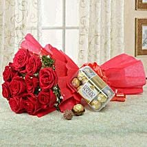 Combo For Love: Flower Delivery in Jeddah
