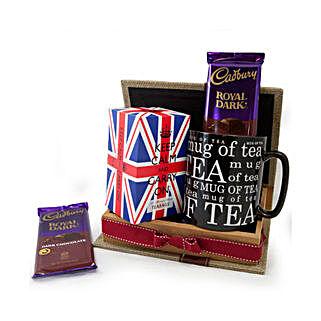 Keep Calm Tea Set: Birthday Gifts to Saudi Arabia