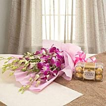 Orchids N Chocolates: New Year Gifts Delivery In Saudi Arabia