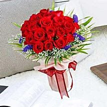 21 Red Rose Bouquet: Mothers Day Flowers to Singapore