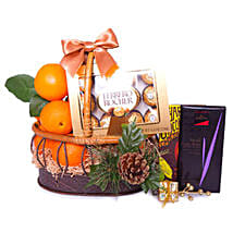 Basket Of Indulgence: Gift Basket to Singapore