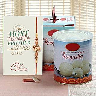 Rasgulla And Rakhi: Rakhi to Singapore