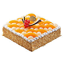 Savory Peach and Longan Cake: Cake Delivery in Singapore