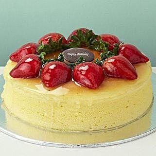 Strawberry Cheesecake: Order Cake Singapore