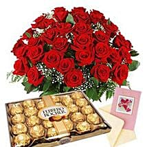 Choco flower Medley: New Year Gift Delivery in South Africa
