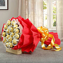 24Pcs Ferrero Bouquet: Valentine's Day Gifts to Abu Dhabi