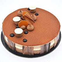 4 Portion Triple Chocolate: Half Kg Cakes to UAE