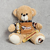 Adorable Teddy Bear and Chocolates Combo: Soft Toys to UAE