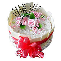 Bouquet bow: Send Cakes for Anniversary