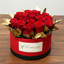 Box Of 20 Red Roses: Flower Delivery in UAE