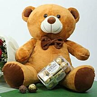 Choco Teddy Love: Send Birthday Chocolates to UAE