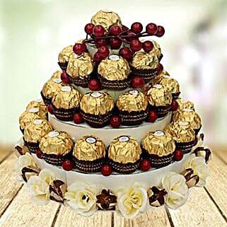 Chocolate Tower: Send Birthday Gifts to UAE