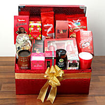 Exclusive Snacks and Chocolate Hamper: Valentine's Day Chocolate Delivery in UAE