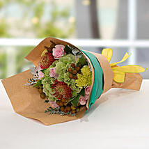 Exotic Flower Bouquet: Anniversary Bouquet to UAE