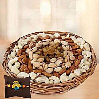 Kids Rakhi with Mixed Dryfruits: Send Rakhi to UAE