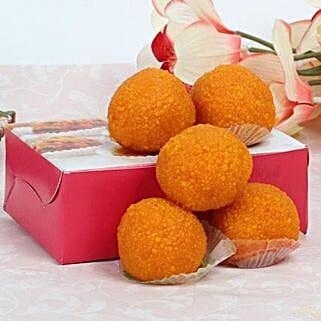 Motichoor Laddoo Box: Bhai Dooj Gift Delivery in UAE