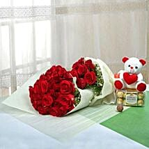 Passionate Gift Of Love: Flowers and Chocolates to Dubai